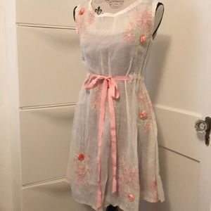 Dresses & Skirts - Custom Made Sheer Embroidered Dress or Tunic